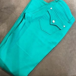 Celebrity Pink Jeans in Teal
